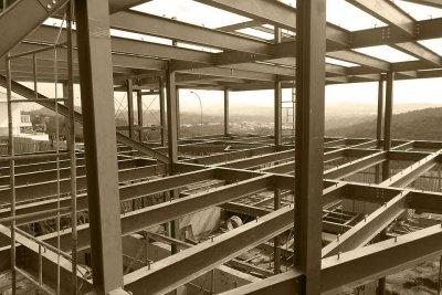 Estructura metálica arquitectónica